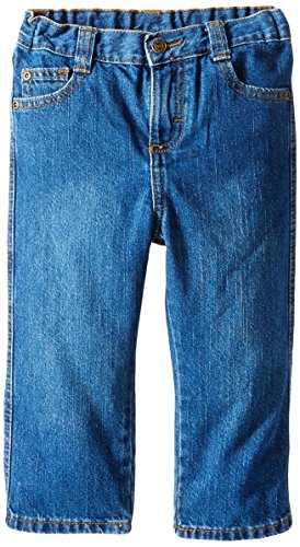 Wrangler Little Boys' Toddler Relaxed Straight Jean, Larado, 2T