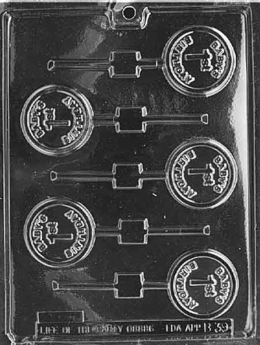 BABY'S 1ST BIRTHDAY LOLLY Baby Candy Mold Chocolate