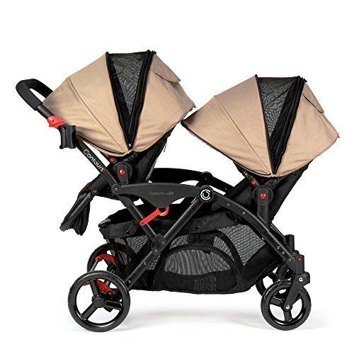 Sand Contours® Double Tandem Stroller, Reversible