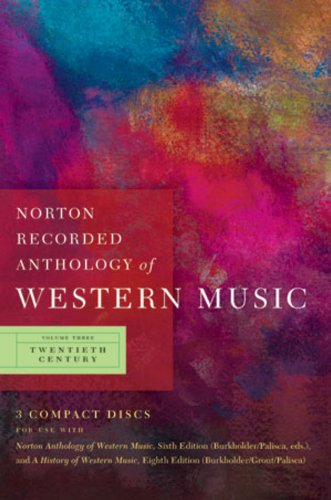 Norton Recorded Anthology of Western Music (Sixth...
