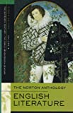 The Norton Anthology of English Literature 16th And Early 17th Century (0393927180) by Greenblatt, Stephen