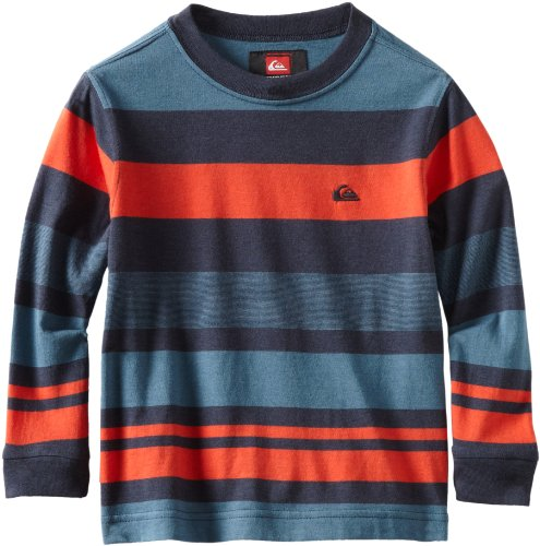Quiksilver Boys 2-7 Reasoner Knit Shirt, Navy, Small