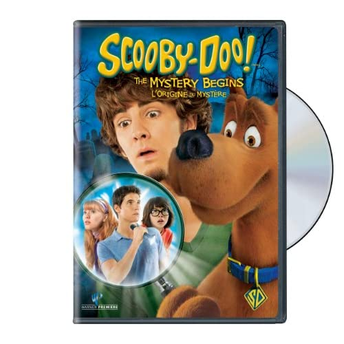 SCOOBY DOO MYSTERY BEGINS Movies & TV