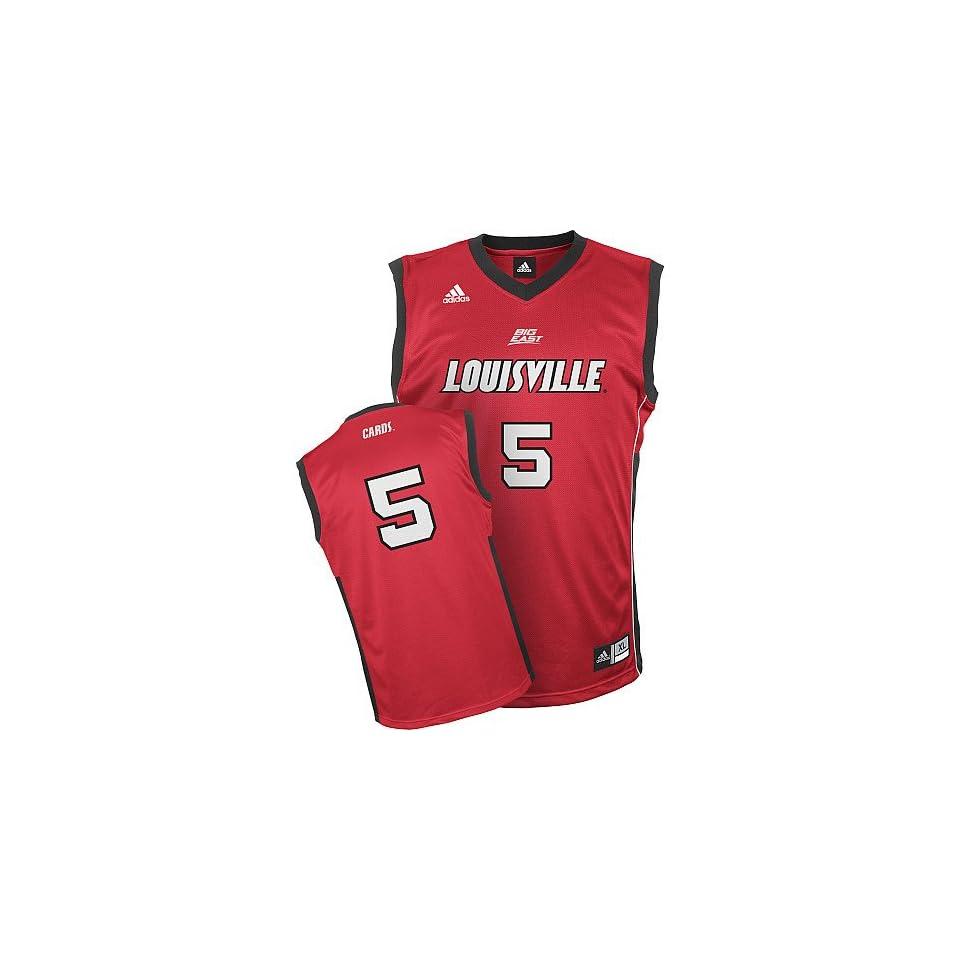 Adidas Louisville Cardinals Replica Basketball Jersey