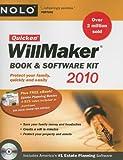 Quicken Willmaker 2010 Edition: Book & Software Kit (Quicken Willmaker Plus)