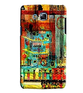 Clarks Printed Designer Back Cover For Samsung Galaxy J7
