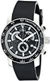 Invicta Men's 11291 Specialty Chronograph Textured Black Polyurethane and Black Dial Watch