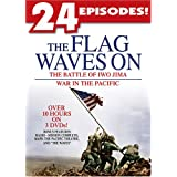 The Flag Waves On The Battle of Iwo Jima War in the Pacific ~ Artist Not Provided