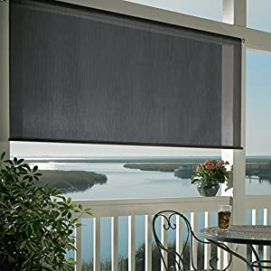 Amazon Com Coolaroo Exterior Roller Shade 8ft By 6ft