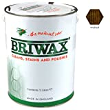 Briwax Wax Polish Original Walnut 5 Litres