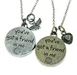 Disney Toy Story Best Friends Necklace Set
