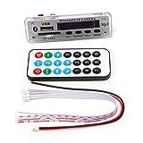 yournameI 12V Car Bluetooth USB TF Radio MP3 WMA Decoder Board Wireless Audio Module -Silver