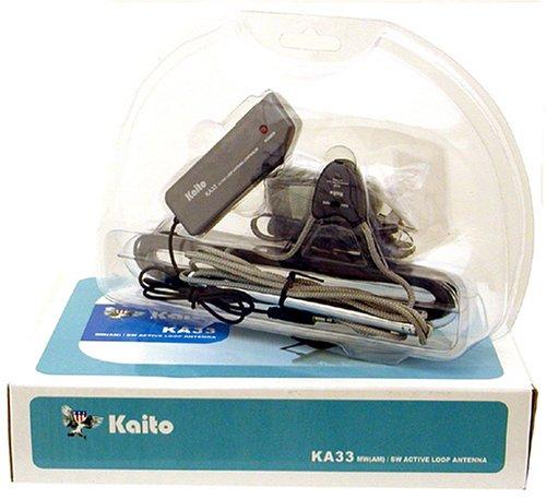 Kaito KA33 Amplified Active Loop AM and Shortwave Antenna