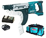 Makita 18V LXT BFR750 BFR750Z BFR750Rfe Screw Gun, BL1830 Battery, DC18RC Charger And DK18027 Bag