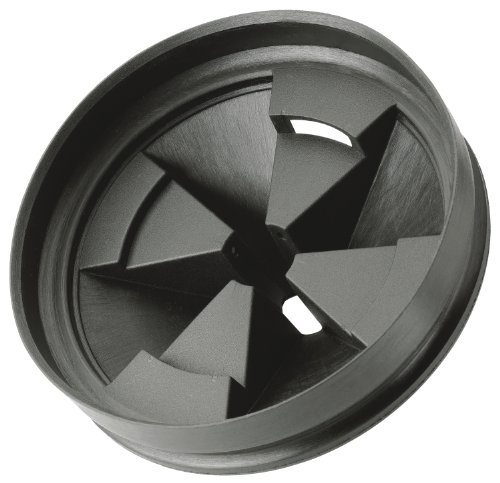 InSinkErator QCB-AM Anti-Microbial Quiet Collar Sink Baffle, Black (Insinkerator Replacement Baffle compare prices)