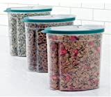 Rubbermaid Cereal Snack Storage Container Each 1.5 Gal 3Pack