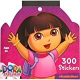 Nickelodeon Dora Jumbo Sticker Book, 300 Stickers by Paper Magic Group,Inc