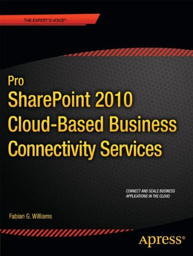 Pro SharePoint 2010 Cloud-Based Business Connectivity Services