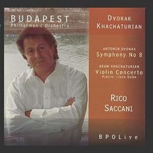 Dvorák - Symphony No 8 & Khachaturian - Violin Concerto