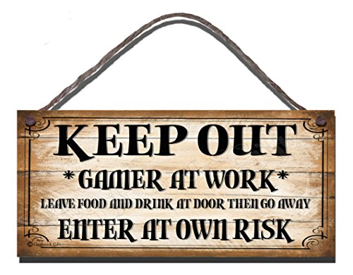 wooden-funny-sign-keep-out-gamer-at-work-leave-food-and-drink-at-door-and-go-away-enter-at-own-risk-