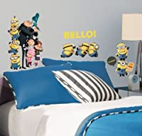 RoomMates RMK2080SCS Despicable Me 2 Peel and Stick Wall Decals by RoomMates
