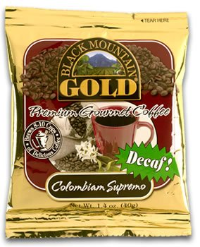 Decaf Colombian Supremo &#8211; Decaf Ground Coffee for 1 Pot