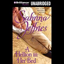 A Hellion in Her Bed: Hellions of Halstead Hall, Book 2 (       UNABRIDGED) by Sabrina Jeffries Narrated by Antony Ferguson