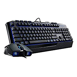 Cooler Master Devastator II - Blue LED Gaming Keyboard & Mouse Combo Bundle (SGB-3030-KKMF1-US)