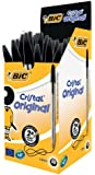 Bic Cristal Original 1.0mm Ball Pen Box of 50 - Black