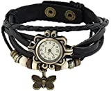 Rise N Shine Vintage Bracelet Analogue Black Women's Watch (rise0004)