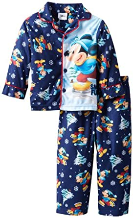 Mickey Mouse Little Boys' 2 Piece Pajama Set, Assorted, 2T