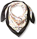 Salvatore-Ferragamo-Womens-Patterned-Scarf-Nero