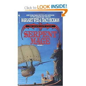 Serpent Mage (The Death Gate Cycle, Vol 4) by Margaret Weis and Tracy Hickman