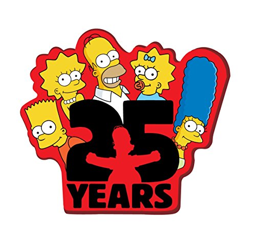 Fox The Simpsons 25 Years Soft Touch PVC Magnet