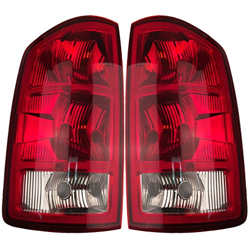 2002-2006 Dodge RAM Pickup Tail Lights 1-Pair(Driver and Passenger Sides) (2003 2004 2005) (2006 Dodge 2500 Headlight Cover compare prices)