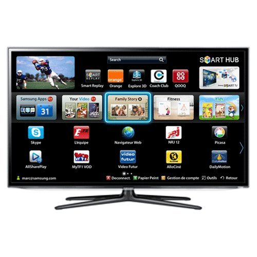 TV 3D 46 pouces SAMSUNGUE46ES6300NOIR46\
