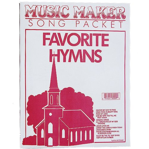 Favorite Hymns #1 music for the Music Maker - 1