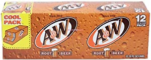 A&W Root Beer 24