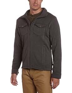 Mountain Khakis Men's Old Faithful Sweater (Charcoal, Small)