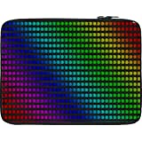 Snoogg Polka Colourful 2416 13 To 13.6 Inch Laptop Netbook Notebook Slipcase Sleeve