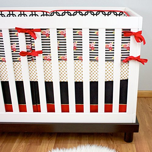 Modified Tot Crib Bedding, Golden Child