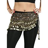 Belly Dance Chiffon Wavy Leopard Design Training Hip scarf - Jungle Fun
