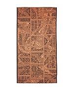 Homemania Alfombra Vetus Negro/Teja 80 x 150 cm