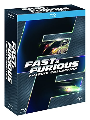 fast and furious - 7 film collection (7 blu-ray) box set blu_ray Italian Import