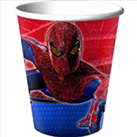The Amazing Spider-Man 9 oz. Paper Cups (8) Party Accessory by Hallmark