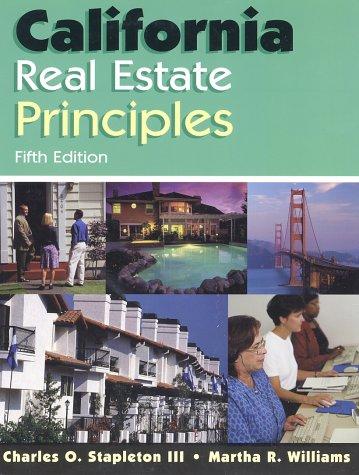 California Real Estate Principles, 5E