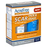 Acne Free Clear Skin Treatments Complete Scar Fade & Erase, for Old & New Scars, 1 set