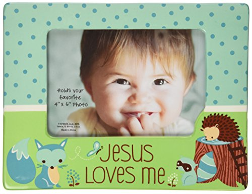 Gund Baby Grow In Grace Photo Frame, Blue Fox