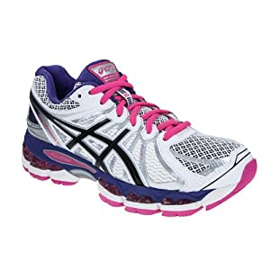 Asics Nimbus 15 - - Gel violet/blanc (Taille: 41,5) Chaussures running femme