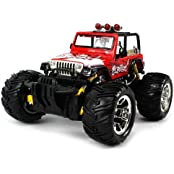 Graffiti Jeep Wrangler Electric RC Truck 1:16 Scale Big Size Off Road Monster Truck RTR Ready To Run, High Quality...